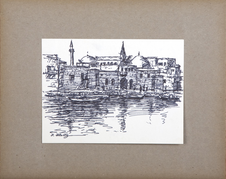 D23 Venice - Marker - 7 x 5.25 - Matt: 11 x 9 - No Frame
