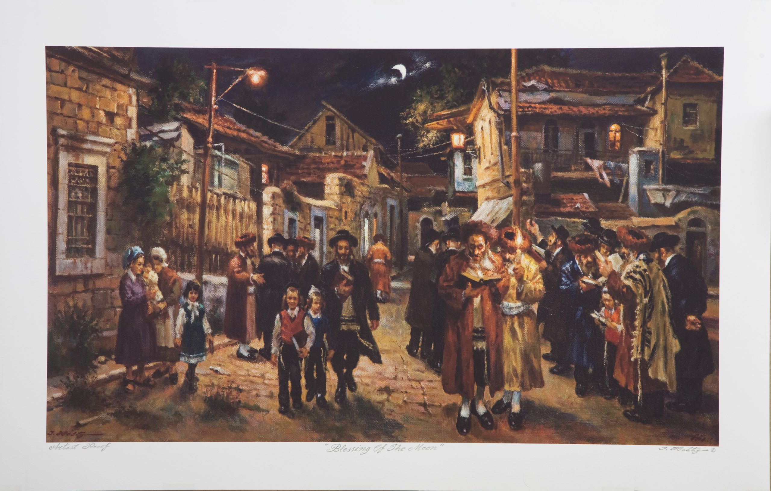L08 Blessing of the Moon - Color - Lithograph - 29.5 x 19 - No Frame - $700