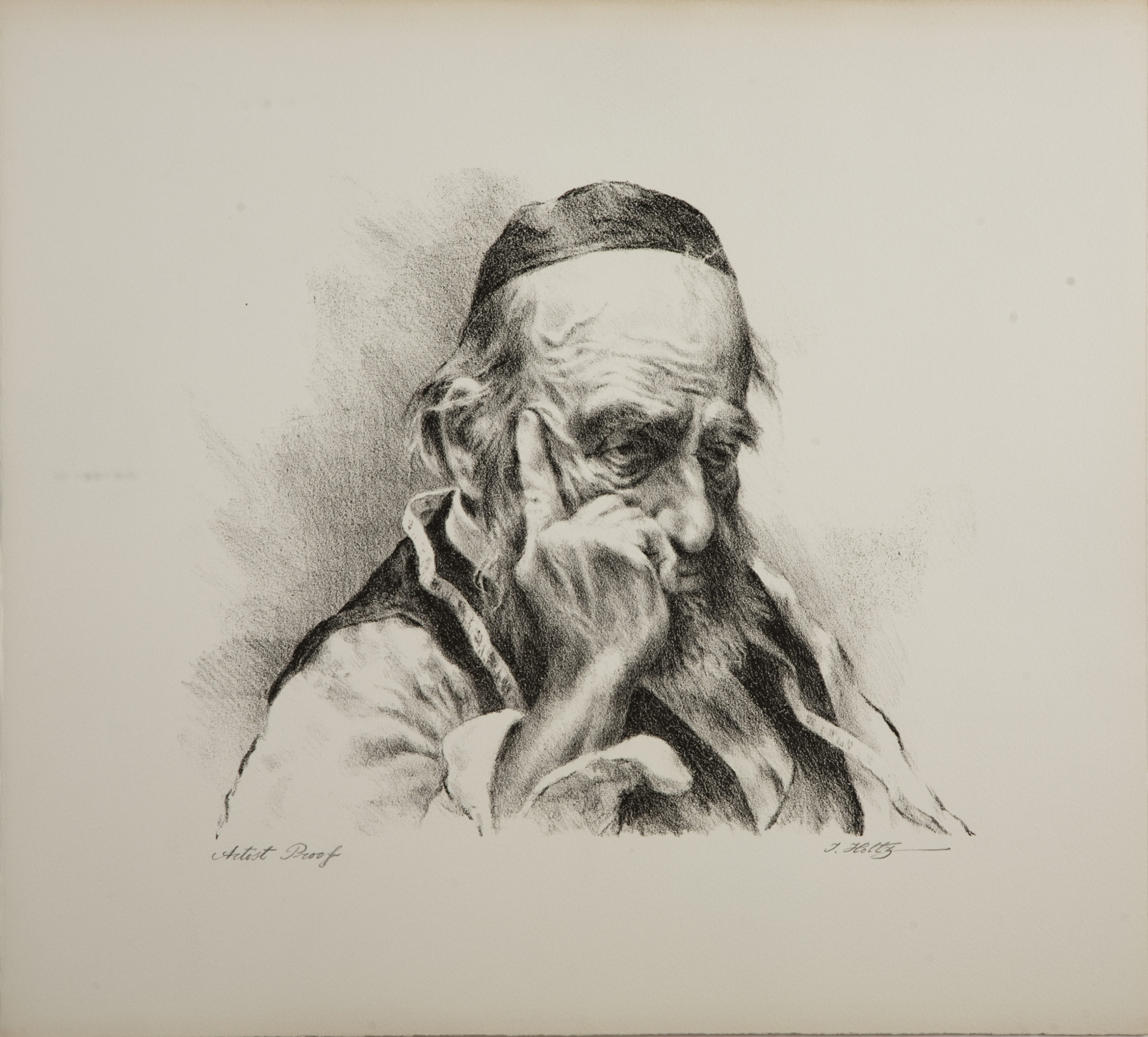 L65B Thinker Tailor - Black and White - Lithograph - 17.25 x 15.5 - No Frame - $340