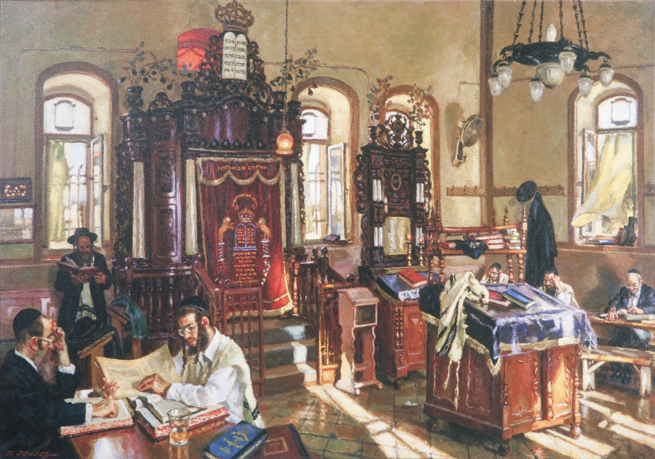 L84 Beit Knesset - Giclee - Lithograph - 35 x 24 - No Frame - $890
