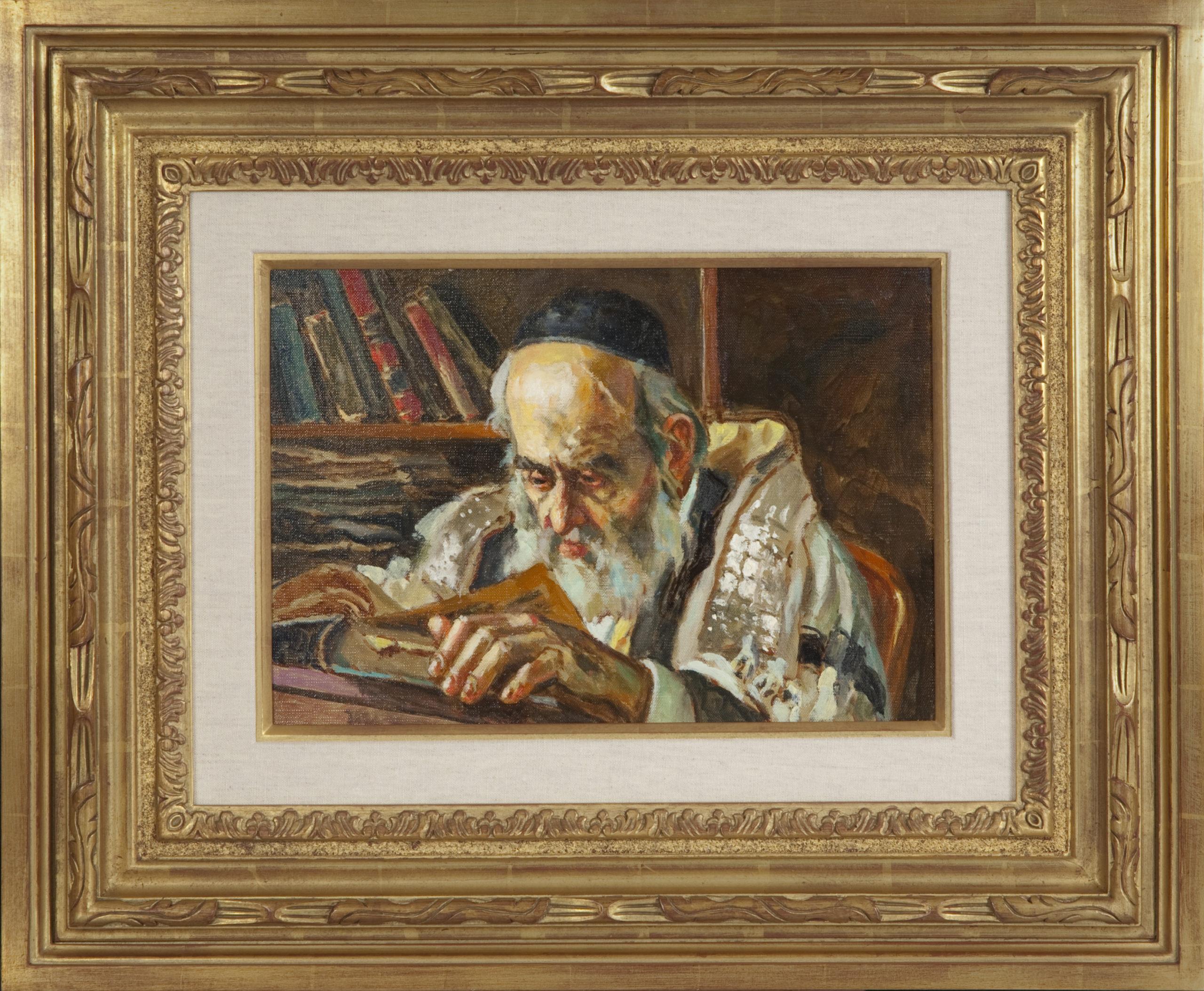 051 Rabbi 2010 - Oil on Canvas - 16 x 11 - Frame: 27.5 x 23 x 2