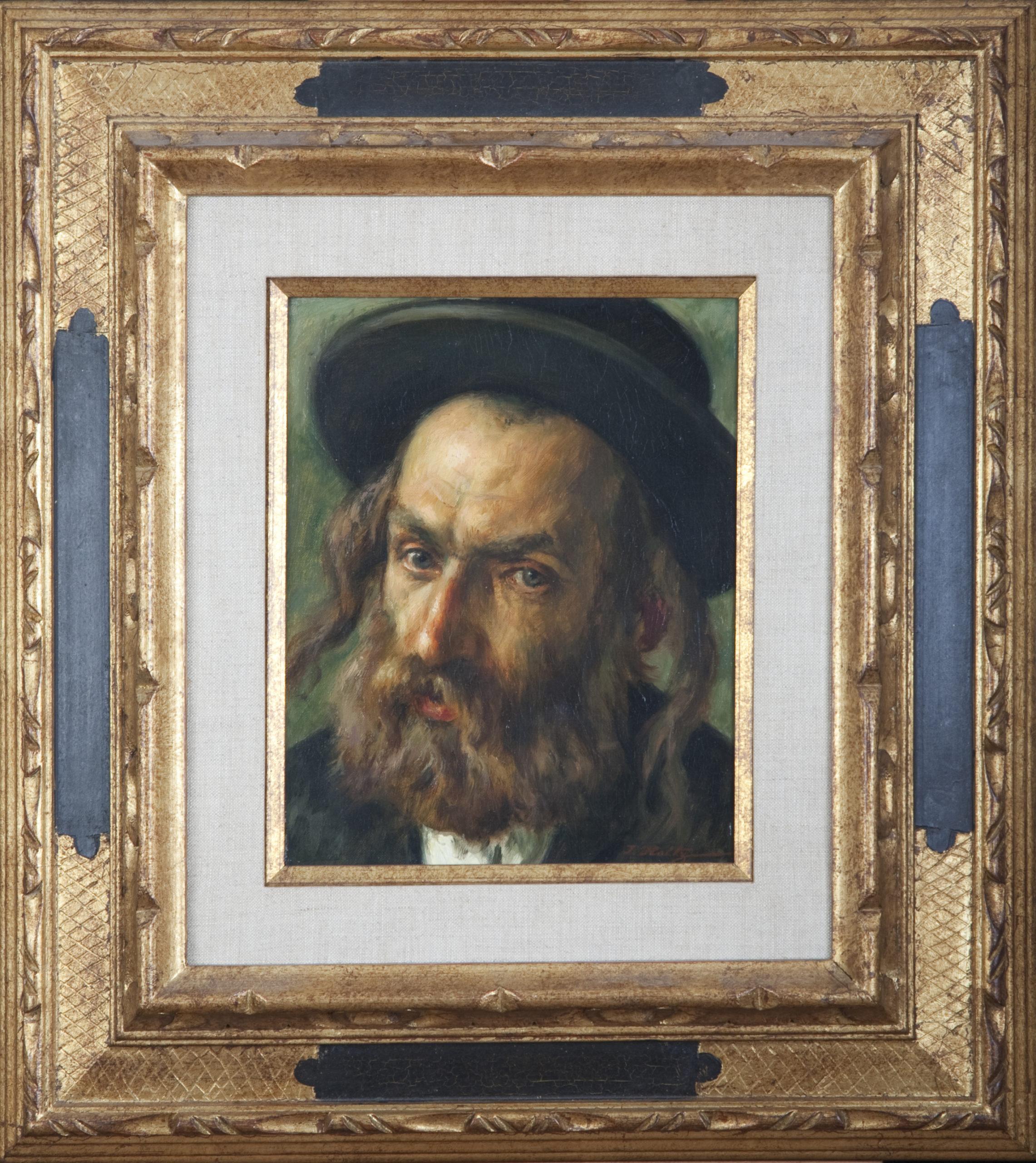 071 Yossel 1968 - Oil on Canvas - 8 x 10 - Frame: 18 x 20 x 2